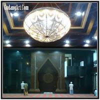 lampu gantung masjid 002