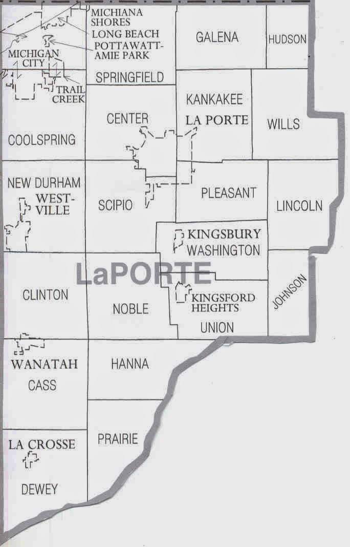 Midwestern microhistory a genealogy blog genealogy for La porte county in