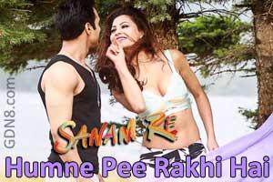 Humne Pee Rakhi Hai - Sanam Re - Pulkit & Yami Gautam