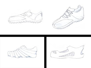 Desenho como desenhar tenis legais varios tipos esbolço fazendo pose pintar e colorir