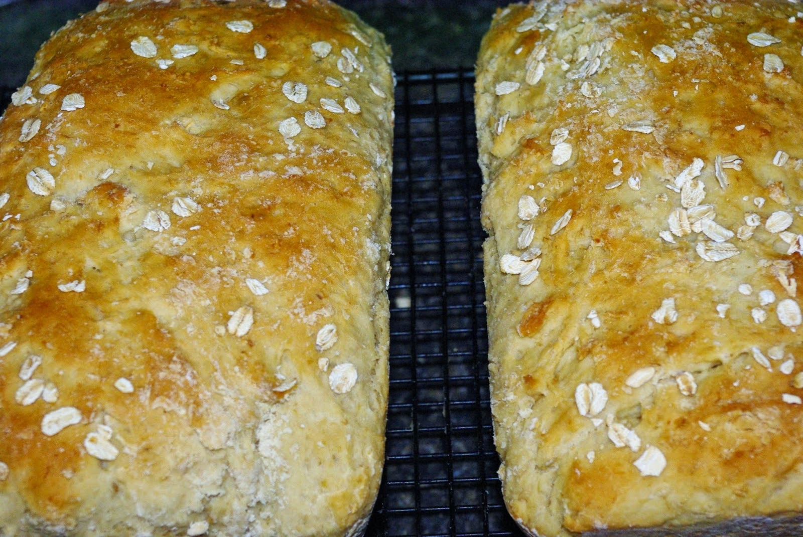~Honey Oatmeal Bread~