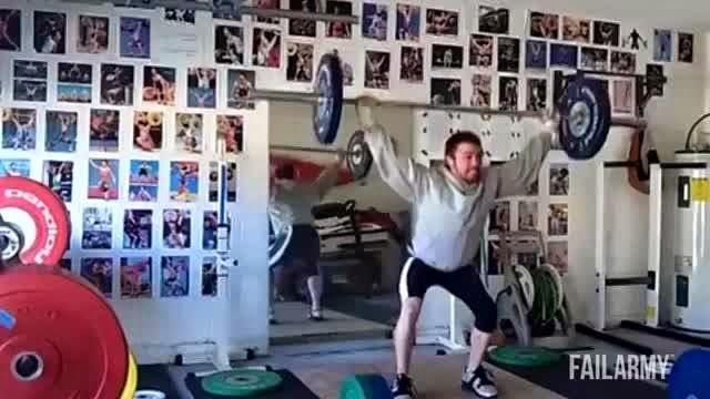 Exercícios de academia que deram muito errado, veja vídeo