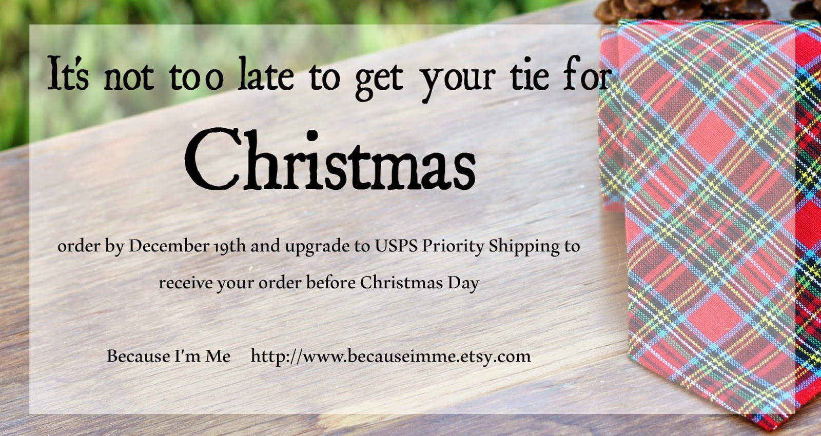 It's too late to order for US Christmas delivery. Buy now and use coupon code PIN10 to save 10%