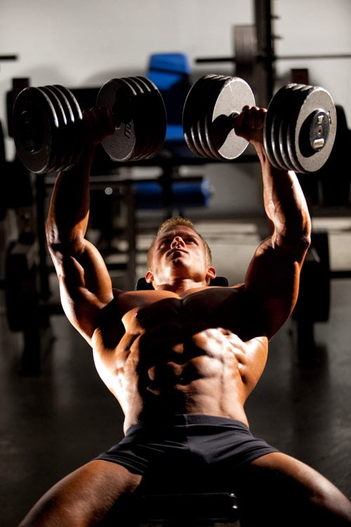 how to build chest muscles in a week