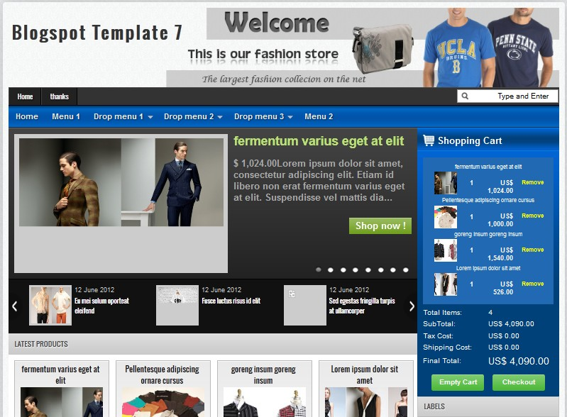 Central Of Free Blogspot Template Free Download Blogspot Template - Free invoices online form anime store online