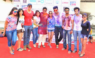 Bollywood Celebs at Rasleela Holi 2014  (9).jpg
