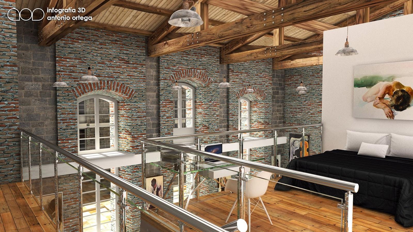 Antonio ortega industrial loft - Loft industrial ...