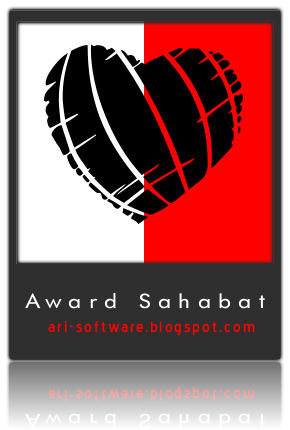 Award Sahabat Ari Software