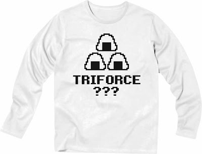 Pixel Party Boy「TRIFORCE???」[Stylish Long sleeve] 4.3oz | T-SHIRT COUNCIL