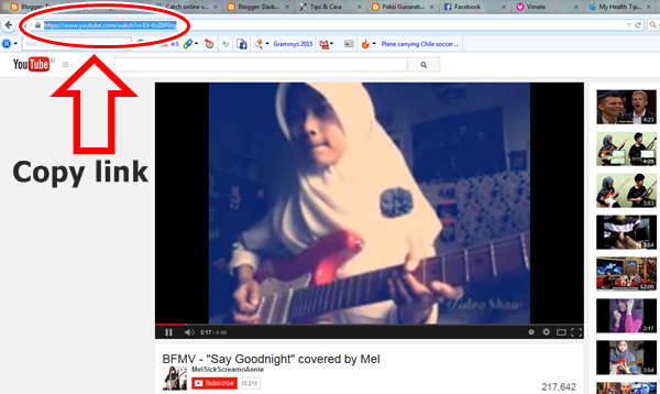 cara termudah download video youtube
