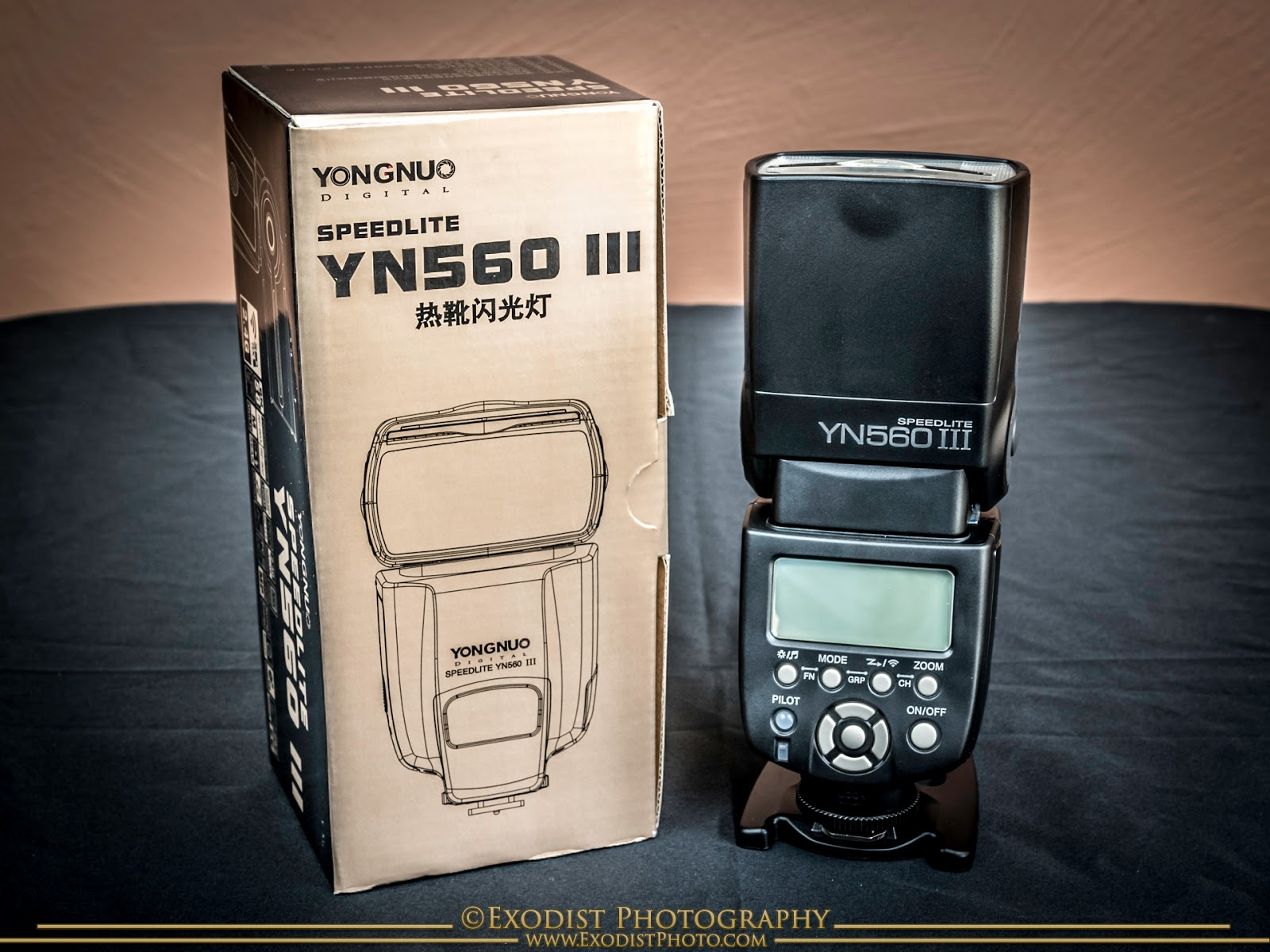 Yongnuo YN560 III Speedlite, © Exodist Photography, All Rights Reserved