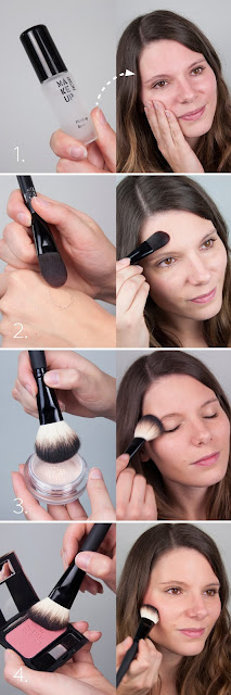 Tutorial: Natürlicher Look mit Make Up Factory