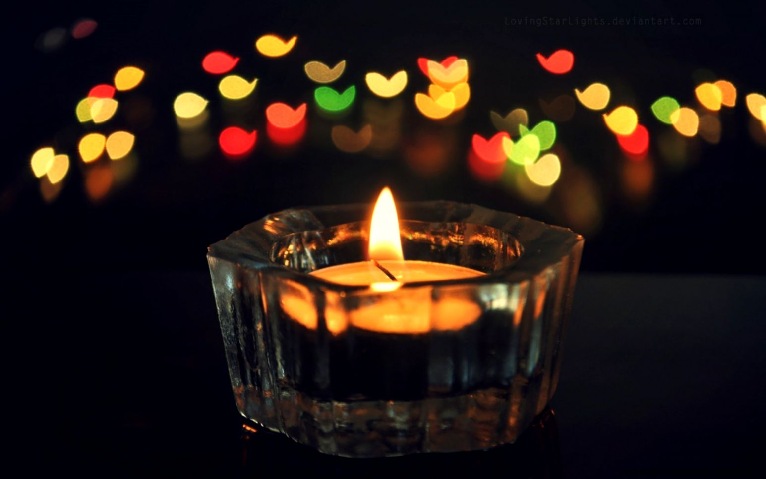 Love Candles Wallpapers Hd