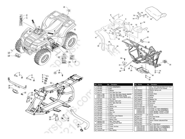 228957386 Polaris Trail Boss 330 Parts Manual 2003 on wiring diagram for quad