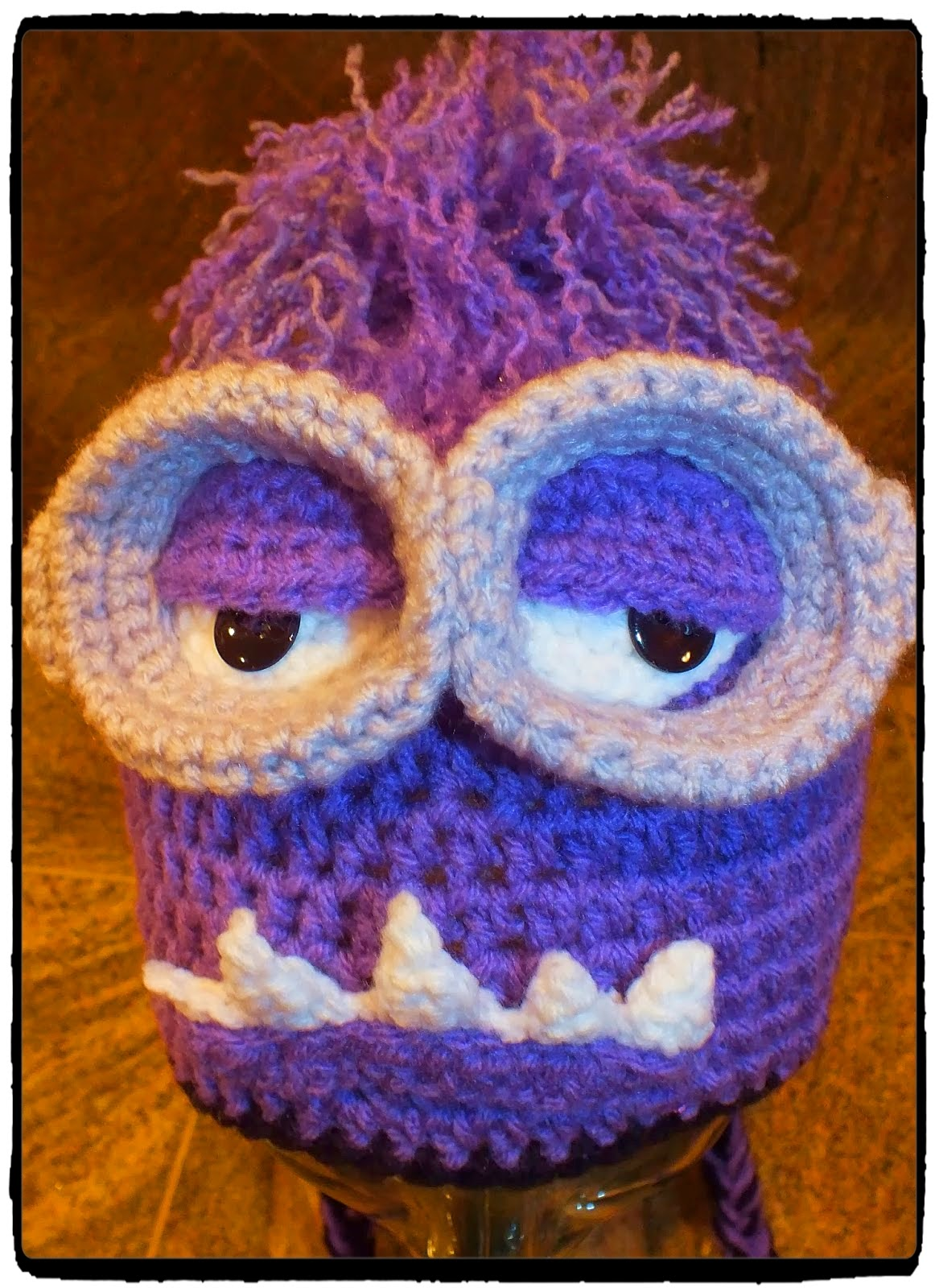 Connie\'s Spot© Crocheting, Crafting, Creating!: Purple Monster ...