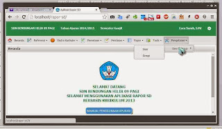 Cara Mendaftar Guru Non NUPTK di Aplikasi Rapor Kurikulum 2013 SD