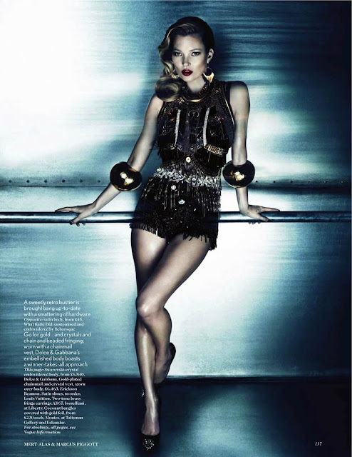 Kate Moss, Mert & Marcus, Vogue UK, Lucinda Chambers, editorial