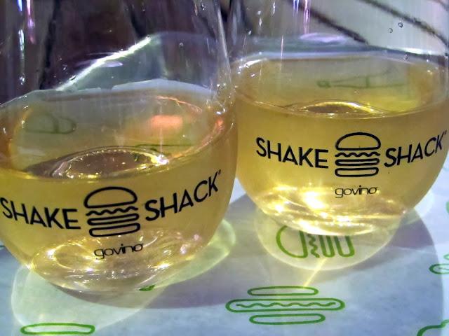 Shake Shack rosé wine