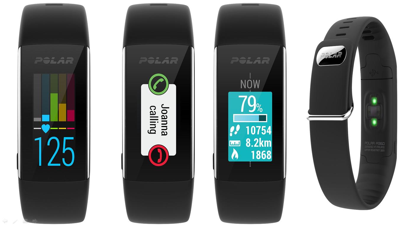 Polar A360 fitness tracker - Best Heart Rate Monitor Tracker 2016 ...