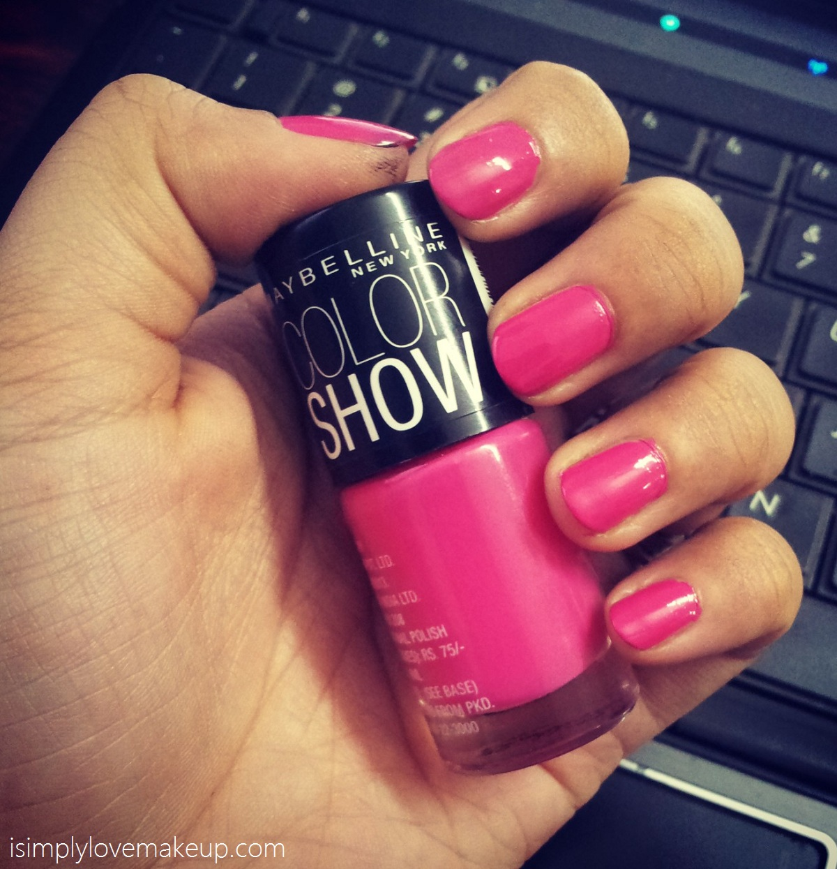 Maybelline Colorshow Nail Polish in Fiesty Fuschia