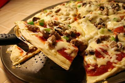 King arthur gluten free pizza