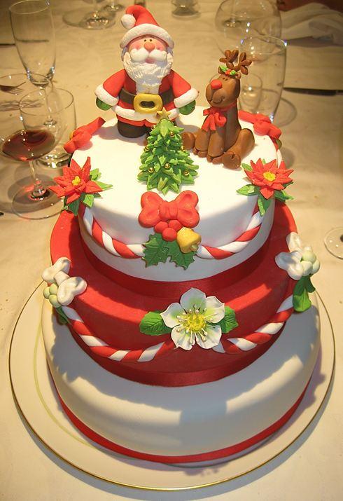 La torta dei sogni torta di natale - Torte natalizie decorate ...