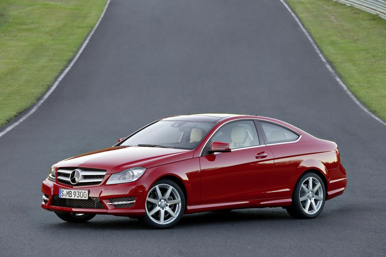 In4ride finally mercedes benz c class coupe revealed for Mercedes benz c coupe