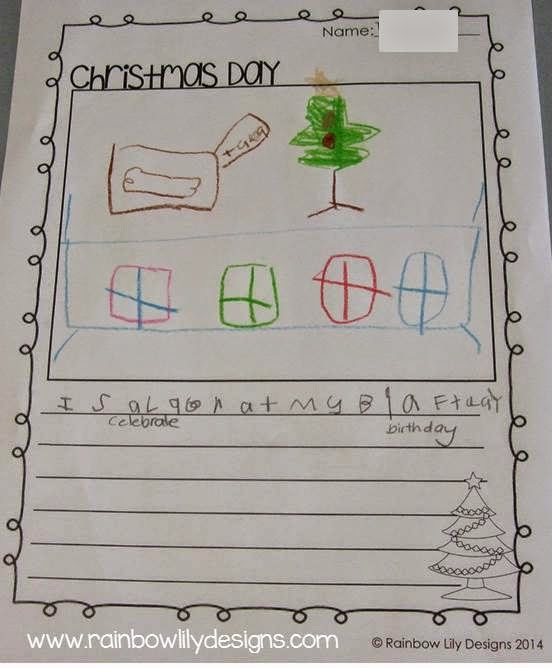 http://www.teacherspayteachers.com/Product/Christmas-Writing-Prompts-1471696