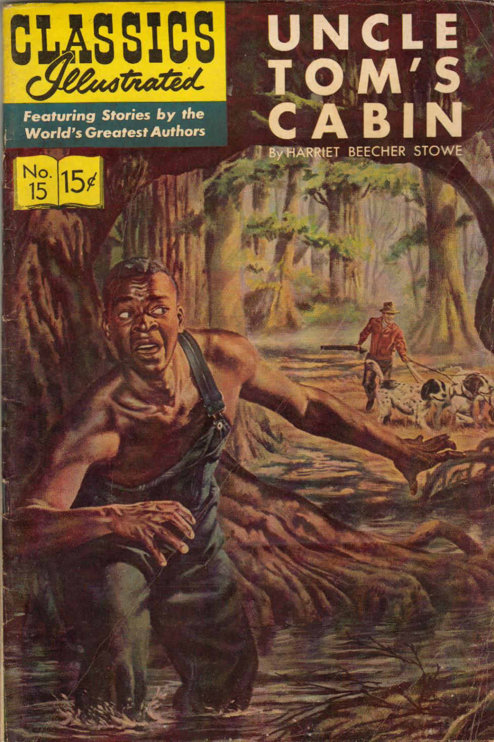 E chitrakatha classics illustrated 15 uncles tom 39 s cabin for Tom s cabin