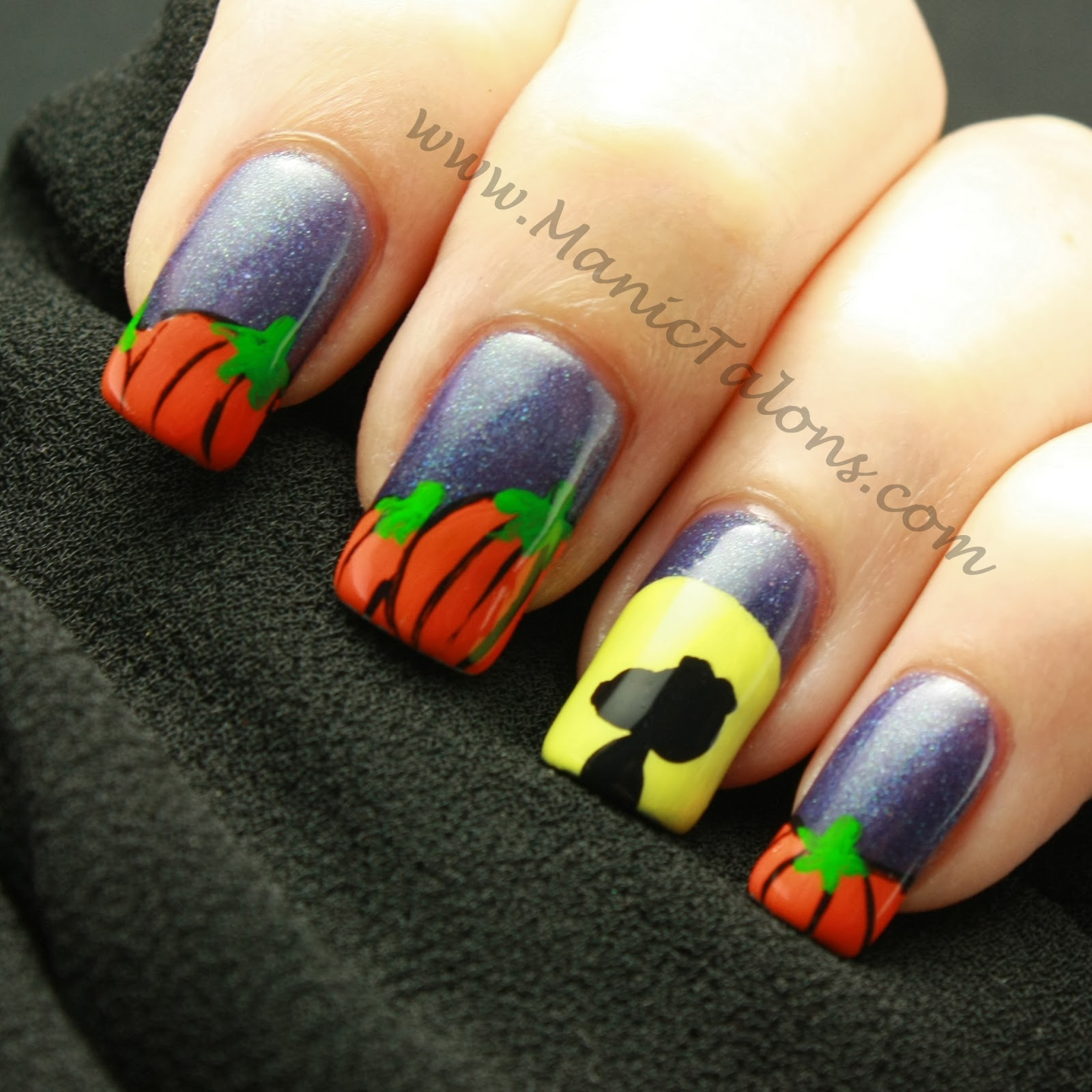 Manic Talons Nail Design: Weekly Mani: It\'s the Great Pumpkin ...