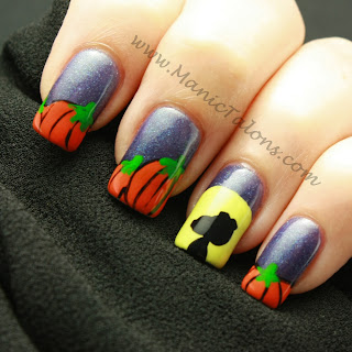 The Great Pumpkin Nail Art