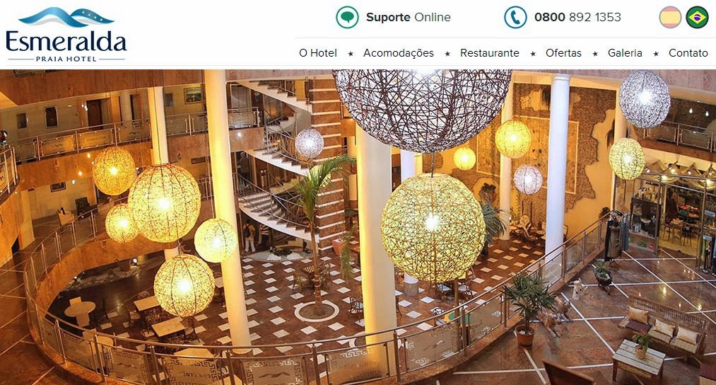 Hotel Esmeralda, Hotel Esmeralda Natal, Hoteis em Natal