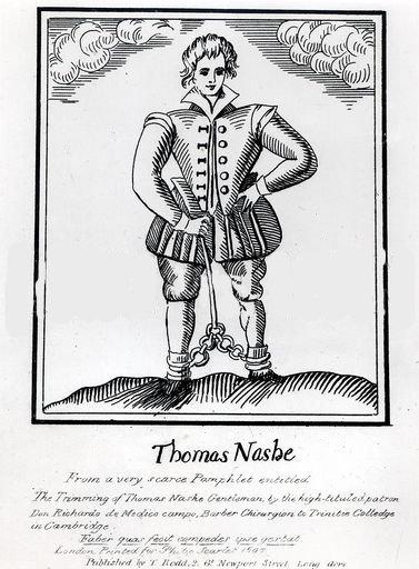 Thomas Nashe : Menippean Prose Poet