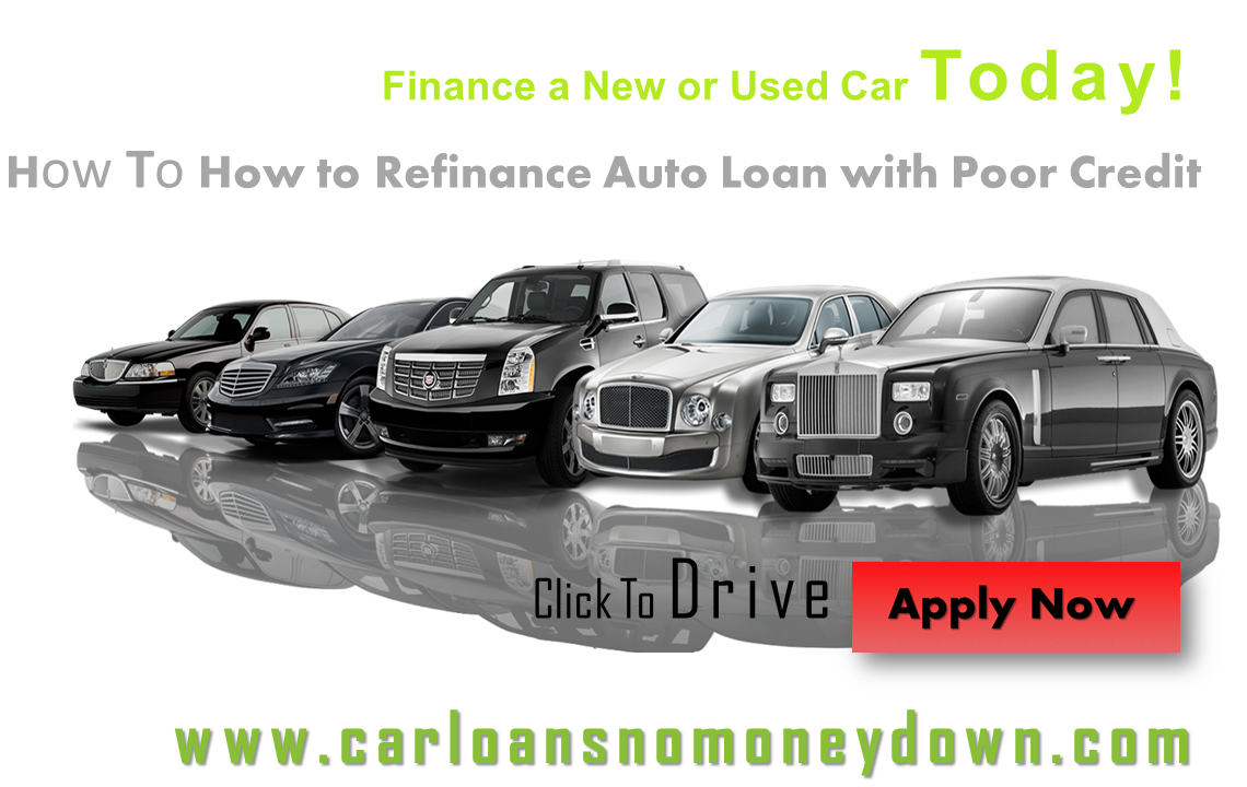 Loans With Bad Credit And Monthly Payments >> Get Refinance Auto Loan With Bad Credit At Affordable Monthly