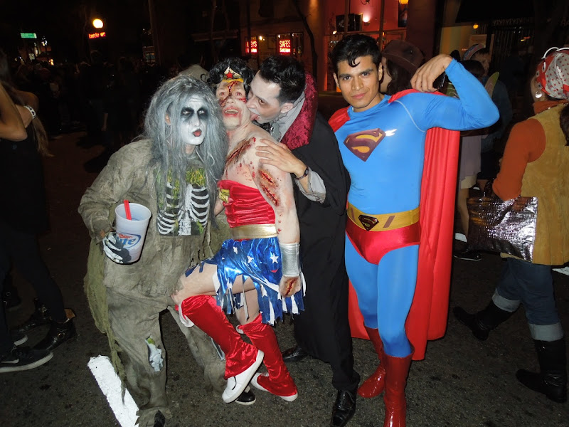 West Hollywood Halloween Carnaval Superman