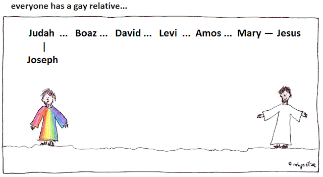 everyone has a gay relative - by rob g