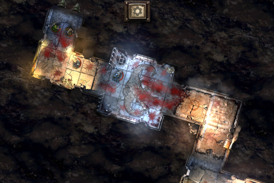 Warhammer Quest iOS review zoomed out