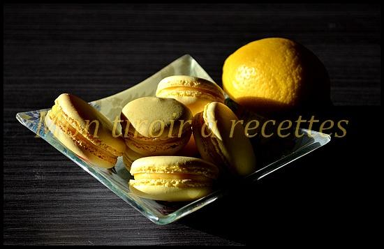 macarons citron pierre hermé