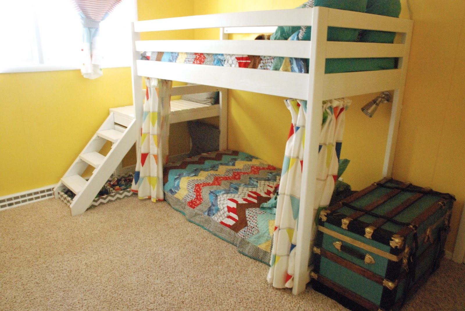 loft bed doorway