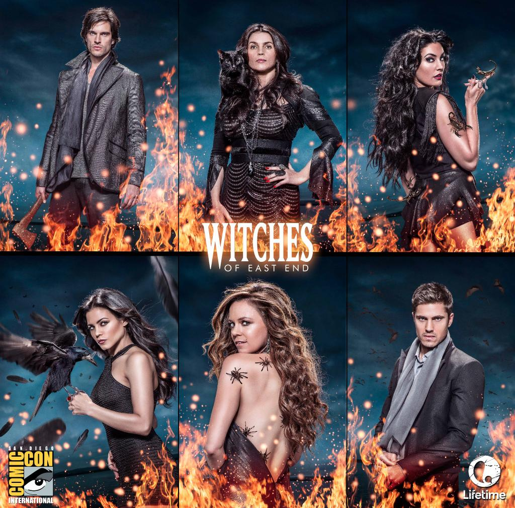 Witches of East End - Season 2 - Comic-Con Poster