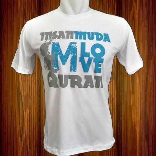 Insan Muda Love Quran (Putih)