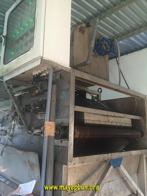 Một máy ép bùn băng tải cũ kỹ gây làng phí tiền bạc cho hóa keo