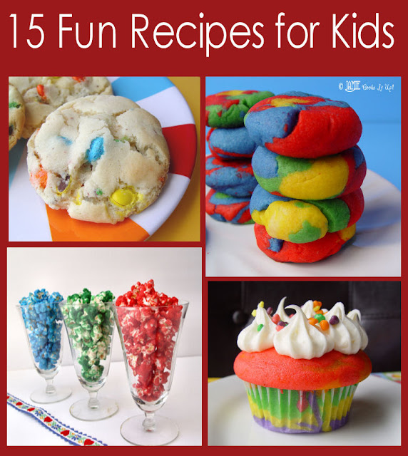 15 fun recipes for kids for Cool food ideas for kids