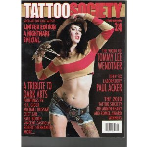 Tattoo Society Magazine Limited Edition - A Nightmare Special Issue