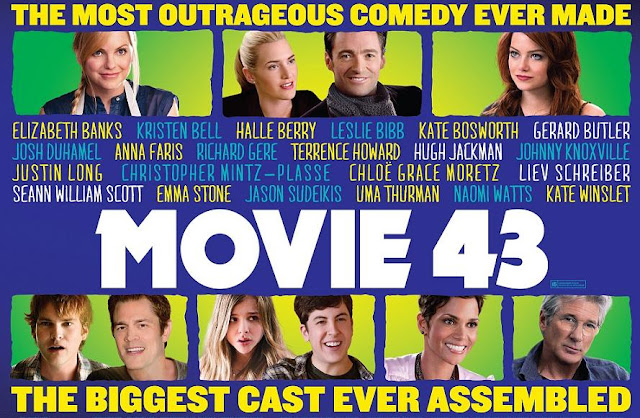 Movie 43 terrible ensemble movie poster