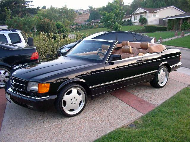 mercedes benz 560 sec cabriolet w126 benztuning. Black Bedroom Furniture Sets. Home Design Ideas