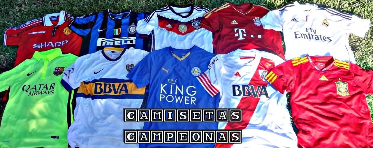 CAMISETAS CAMPEONAS
