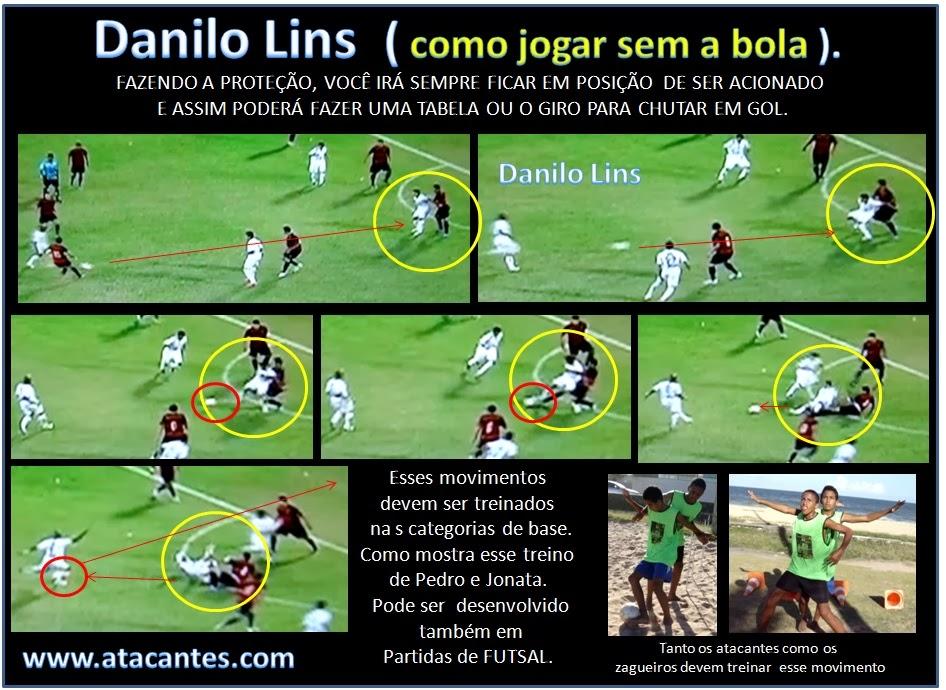 Vídeo Aula com Danilo Lins (Como jogar sem a Bola)