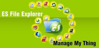 ES File Explorer | aplikasi file manager untuk android