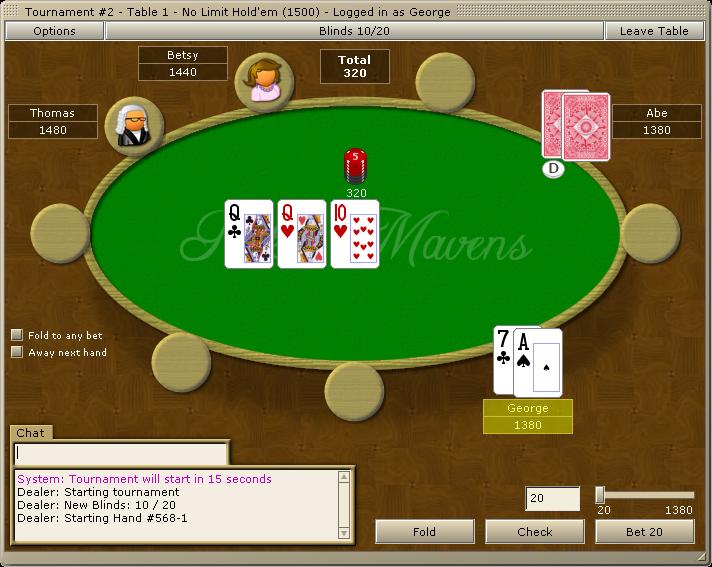 Poker mavens update